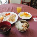 ホテルオーシャン - 料理写真:いつもと変わらない朝食
