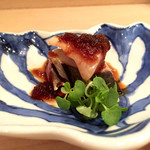 樋口 - 2016/6_さごしの藁燻し 玉ねぎ醤油