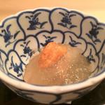 樋口 - 2016/6_雲丹と芋茎の煮こごり