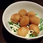 """居酒屋 NIJYU-MARU - スモーク風""""半熟""""うず卵"""