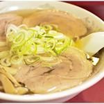 蓬来軒 - チャーシュー麺 850円 すっきり仕上がりつつも旨味はズバっと♪