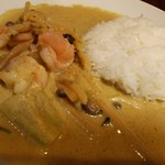 タイレストラン クンメー1 - グリーンカレー
