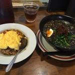 52559109 - 担々麺+オムライス!