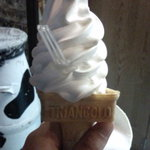Kanoboku - 出石地牛乳バニラミルクソフトクリーム300円