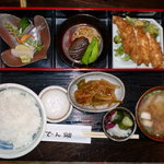 酒肴 でん助 - 日替わり御膳1000円