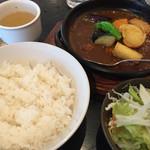 カズサヤ - 激辛カツカレー大辛1200円