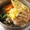 鶏五目釜めし(もも、ゴボウ、山菜、竹の子、人参)