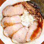 元祖敏々亭 びんびん - 料理写真:チャーシューメン