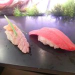 Sushizammai - 炙りトロと赤身