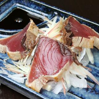 野菜や魚にこだわる充実のサイドメニュー