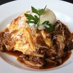 Cafe にしむら - 料理写真:牛肉とキノコのデミグラスソース