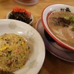 麺堂 香 - 竹ランチ(焼飯)はどのラーメンにも+220円でOK
