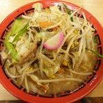 麺堂 香 - 野菜ラーメン:700円