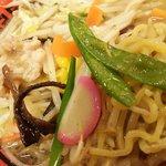 麺堂 香 - 数種類の野菜が楽しめます