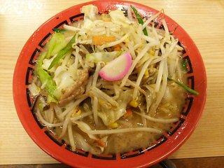 麺堂 香 高城店 - 野菜ラーメン:700円
