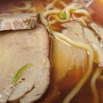 たかべん食堂 - ラーメンのチャ-シュウ