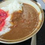 たかべん食堂 - ミニカレー200円