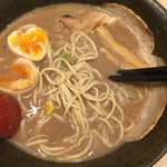 52573439 - 煮干しらーめん+味玉