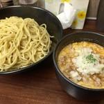 五十番 - 201606 カレー担々つけ麺 大盛り 1030円
