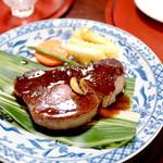 オリエンタル - 料理写真:フィレステーキ 250g (4750円) '16 1月上旬