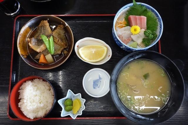 潮騒の湯 - 本日の定食1,080円
