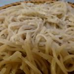 蕎麦にしやま - 料理写真:赤城のそば。そばは、小麦入り。
