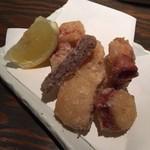 ハントコcafe - 水蛸の唐揚げ〜♪ 750円。