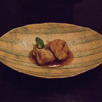 5258284 - 揚物 国産鶏と京葱の芋饅頭