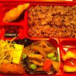 出目金 - 七福米弁当 たしかな素材と 優しい味付け 500円