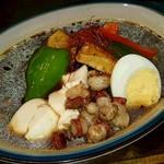 ZORA - 炙りピリ辛タコとおとうふのスープカレー