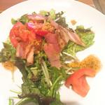 お好み焼鉄板焼 ツチヤ - 料理写真:私の中ではオサレなサラダ