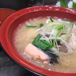 清次郎 - 名物漁師汁300円