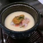 清次郎 - 海鮮茶碗蒸し500円