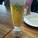 シエロイリオ - ランチタイムビール(300円)