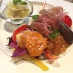 醤香 - ランチの前菜