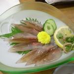 五郎八 - ホタルイカの刺身