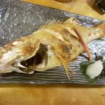五郎八 - ノドグロの塩焼き