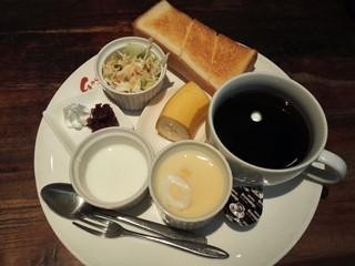 Caffe de Gouter - ブレンドと通常モーニング
