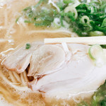 須恵三洋軒 - 薄切りのたんぱく質なチャーシュー様も良いですよね♡