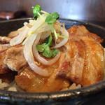 群馬名物 麦豚丼の上州亭 - 160624 麦豚丼単品並