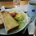 エクセルシオール カフェ - 料理写真:トーストモーニング 480円