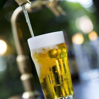 6種類のクラフトビール&ワインなど!2時間フリーフロー!