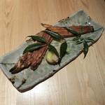 ひろとし - 明石の焼き穴子・本山葵で。1,480円(税抜)