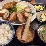 とんかつ ひらよし - 10食限定ランチ¥1050