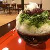 Yama Cafe - 料理写真:宇治金時練乳
