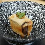 トゥ・ラ・ジョア - 頬肉とウナギのオーブン焼き