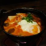 晴れる家 春江 - ☆ピリ辛スープ(#^.^#)☆