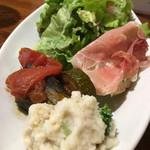 西荻RISE - サラダ&前菜盛り合わせ