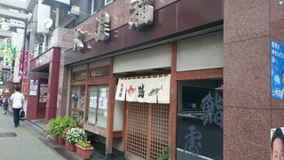 大黒鮨 - 中村橋駅から中杉通りを少し進んだ辺り