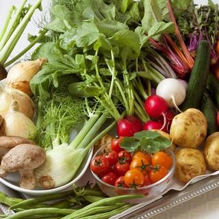 立川野菜をはじめ、厳選旬素材を使用した「ナチュラルフレンチ」